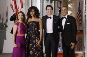 Dîner d'État : Michelle Obama sublime, grande première pour ses filles !