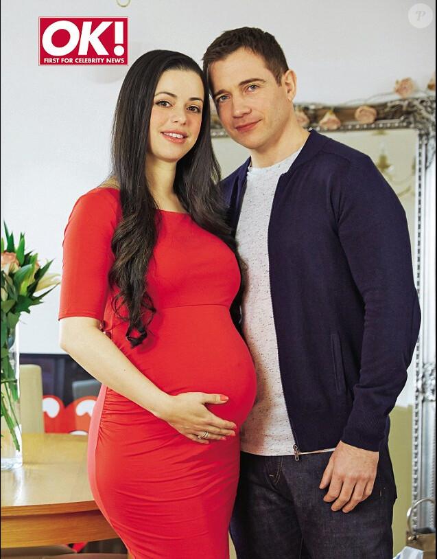 Tina Barrett annonce sa grossesse dans le magazine OK! en kiosques cette semaine.
