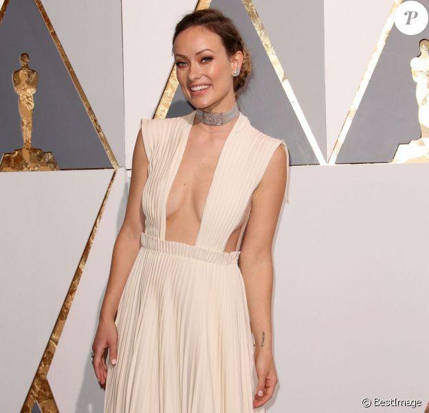 Olivia Wilde - Arrivées à la 88e cérémonie des Oscars à Los Angeles le 28 février 2016.