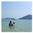 Rachel Legrain-Trapani et son mari le footballeur Aurélien Capoue en voyage en Thaïlande. Février-mars 2016.
