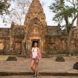 Rachel Legrain-Trapani et son époux le footballeur Aurélien Capoue en voyage en amoureux en Thaïlande. Février-mars 2016.