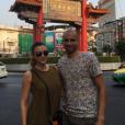 La belle Rachel Legrain-Trapani et son mari le footballeur Aurélien Capoue en voyage en amoureux en Thaïlande. Février-mars 2016.
