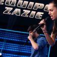 Battle entre Derya et MB14 dans The Voice 5, sur TF1, samedi 26 mars 2016