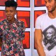 Battle entre Nick Mallen et Tamara dans The Voice 5, sur TF1, samedi 26 mars 2016