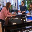 Battle entre Sam et Lukas K. Abdul dans The Voice 5, sur TF1, samedi 26 mars 2016