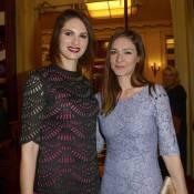 Emmanuelle Boidron complice avec Laetitia Bléger devant Tonya Kinzinger