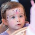 Jade Foret, ses trois enfants, Liva (3 ans), Mila (2 ans) et Nolan (2 mois) à Disneyland Paris pour le deuxième anniversaire de Mila. Mars 2016.