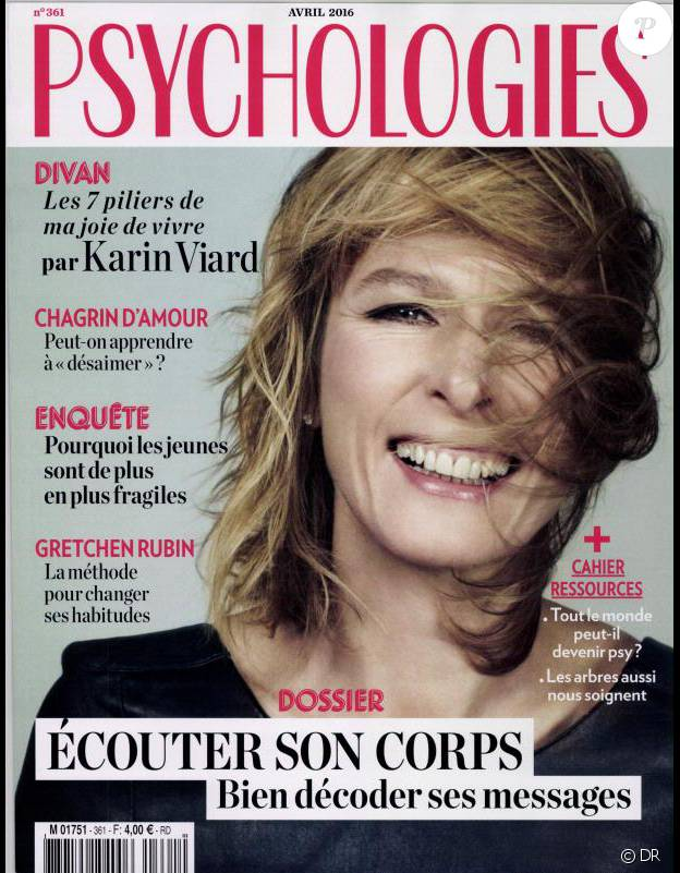 Le magazine Psychologies du mois d'avril 2016