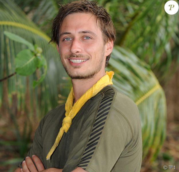"""Grégoire, candidat de """"Koh-Lanta 7"""" et gagnant du """"Choc des héros""""."""