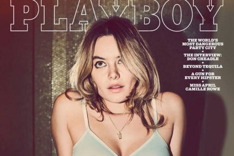 Camille Rowe : Playmate irrésistible pour le magazine de Hugh Hefner