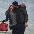 Thomas Vergara et Nabilla Benattia se sont offerts un séjour à Barcelone pour le nouvel an. Photo publiée sur Instagram, le 1er janvier 2016.