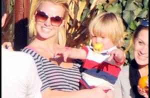 REPORTAGE PHOTOS : Britney Spears... que du bonheur avec ses deux adorables petits garçons !