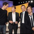 Johnny Hallyday, Grand Corps Malade, Michel Denisot et David Hallyday