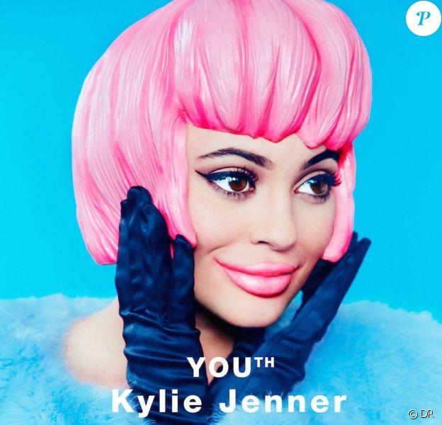 Kylie Jenner en couverture du nouveau numéro (avril 2016) du magazine Paper. Photo par Erik Madigan Heck.
