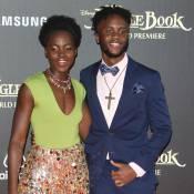 Lupita Nyong'o : Son petit frère Peter, beau gosse stylé, lui vole la vedette