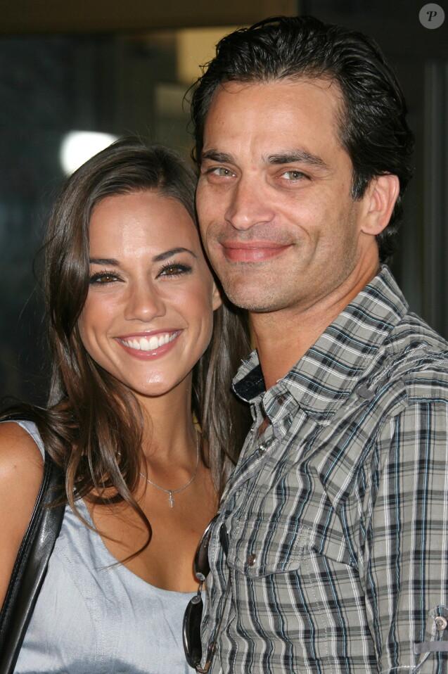 Johnathon Schaech, Jana Kramer à la première de A Perfect Getaway à Hollywood, le 5 août 2008