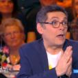 Thierry Moreau dans  Touche pas à mon poste  sur D8, le lundi 4 avril 2016.