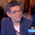 """Cyril Hanouna revient sur les accusations disant que des propos de Patrick Sébastien ont été coupés au montage dans l'émission """"On n'est pas couché"""". Emission """"Touche pas à mon poste"""" sur D8, le 6 avril 2016."""