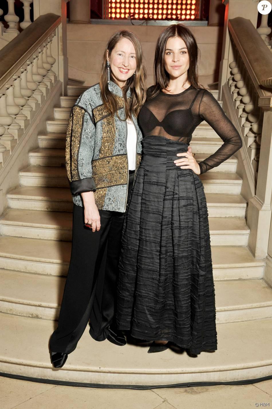 Ann-Sofie Johansson (H&M) et Julia Restoin Roitfeld ...