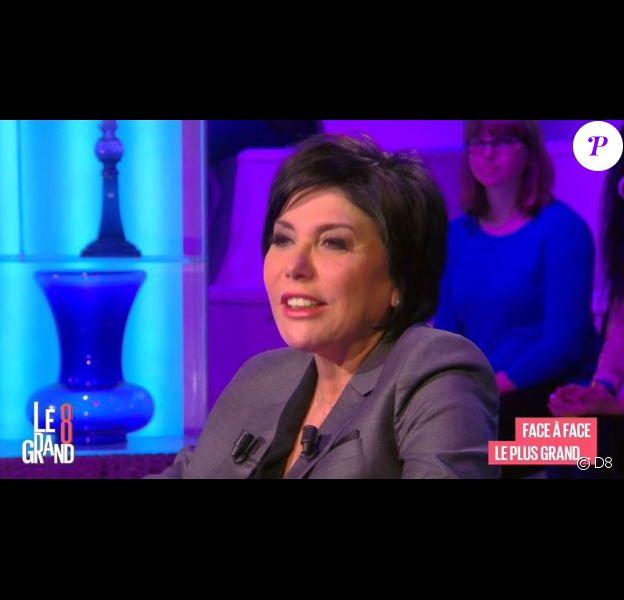 Liane Foly sur le plateau de l'émission Le Grand 8, le 12 avril 2016