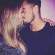 """Rémi et Emilie de """"Secret Story 9"""" célèbrent 3 mois d'amour. Novembre 2015"""
