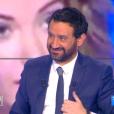 """Débat sur les exigences de Nabilla pour venir sur le plateau de """"Touche pas à mon poste"""" (D8), le 14 avril 2016."""