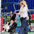 Geri Halliwell et sa fille Bluebell Madonna