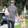 Heidi Klum et ses enfants Leni et Henry