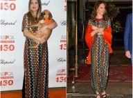 Drew Barrymore vs Kate Middleton : La même robe, le même jour, pas le même effet