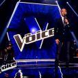 Antoine, Marc Hatem et Derya s'affrontent lors de l'épreuve ultime dans The Voice, samedi 16 avril 2016 sur TF1