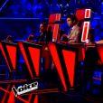 Alexandre, Luna et Lola Bai s'affrontent lors de l'épreuve ultime dans The Voice, samedi 16 avril 2016 sur TF1