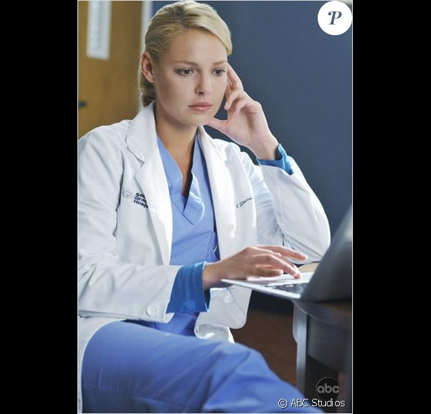 Katherine Heigl dans Grey's Anatomy.