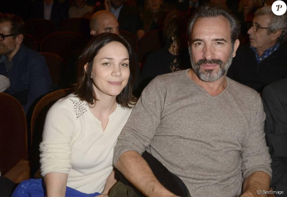 Nathalie p chalat avec son compagnon jean dujardin for Theatre jean dujardin