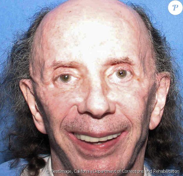 Phil Spector photographié le 28 octobre 2013. Le légendaire producteur musical est apparu très vieilli sur une photo de prison où il purge une peine de 19 ans pour le meurtre de Lana Clarkson