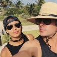 Sami Miro et Zac Efron au Mexique / photo postée sur Instagram.