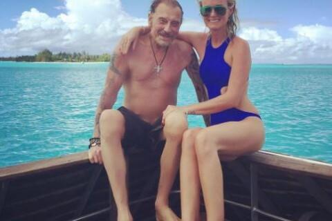 Johnny Hallyday et Laeticia : Baignade avec leurs filles au milieu des requins !