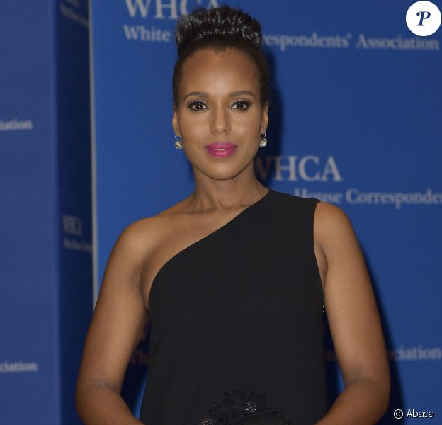 Kerry Washington à la soirée White House Correspondents' Association Dinner à Washington, le 30 avril 2016