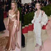 Lily-Rose Depp fait sensation au Met Gala avec... sa belle-mère Amber Heard