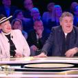Fou rire pour Geneviève de Fontenay, Pierre Ménès et Clara Morgane, dans  Faut pas abuser! , le mardi 10 mai 2016 à 21h00 sur D8.