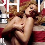 "Georgia May Jagger : Topless, sensuelle et ""so British"" !"