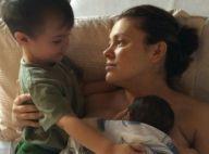 """Alyssa Milano, maman comblée et fêtée : """"Mon coeur est bien rempli"""""""
