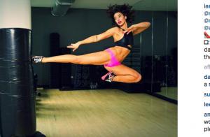 Bianca Van Damme sportive et sexy : Elle maîtrise le grand écart comme papa JCVD