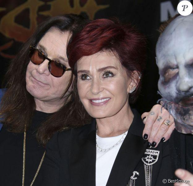 Ozzy Osbourne et Sharon Osbourne se retrouvent pour la soirée 'Corey Taylor Special Announcement' au Palladium à Hollywood. Après trente ans de mariage, le couple mythique du heavy metal, Ozzy et Sharon Osbourne se séparent. Selon plusieurs sources, ce dernier aurait même quitté le domicile conjugal. Le 12 mai 2016