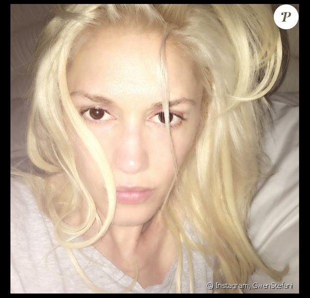Gwen Stefani se dévoile sans maquillage sur sa page Instagram, le 12 mai 2016
