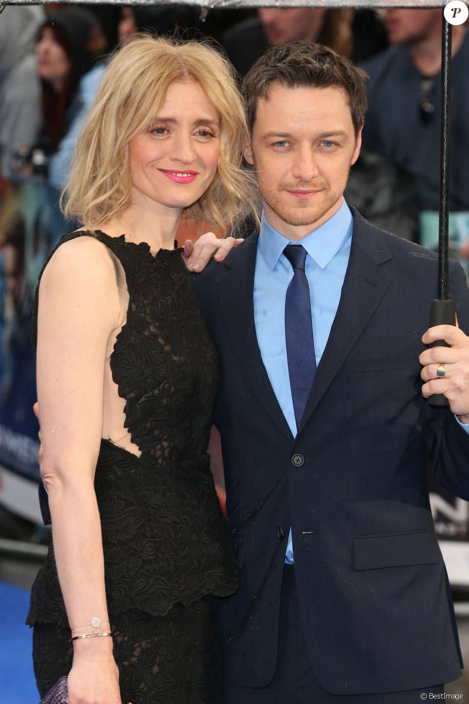 James mcavoy anne marie duff protest