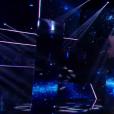 Antoine lors de la finale de The Voice 5, sur TF1, le samedi 14 mai 2016