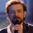 Clément Verzi lors de la finale de The Voice 5, sur TF1, le samedi 14 mai 2016