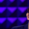 Antoine et Vianney chantent ensemble lors de la finale de The Voice 5, sur TF1, le samedi 14 mai 2016