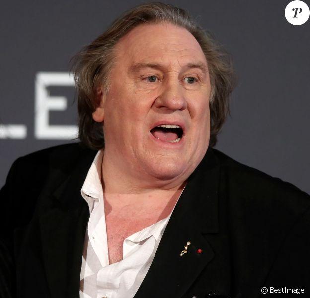 """Gérard Depardieu - Avant premiére mondiale de la série TV Netflix, """"Marseille"""" au Palais du Pharo de Marseille le 4 mai 2016. © Dominique Jacovides/Bestimage."""