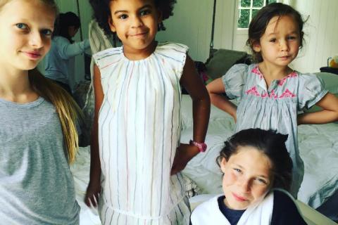 Gwyneth Paltrow : Apple fête ses 12 ans avec Blue Ivy, la fille de Beyoncé !